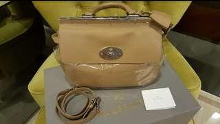 Mulberry Leather Shoulder Handbag