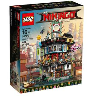 LEGO 70620: Ninjago - The Lego Ninjago Movie - NINJAGO City (NEW)