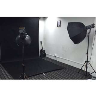 Indoor Studio Photoshoot for rent