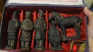 兵馬俑擺設/Terracotta Warriors