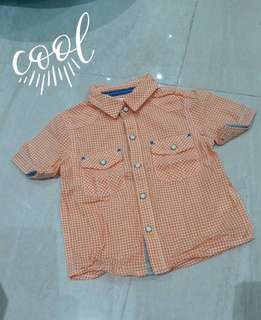 Cool summer!! Gingham polo