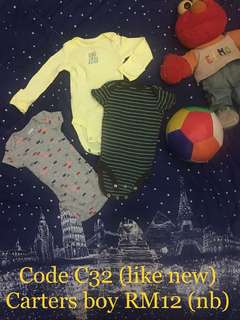 Combo set baby boy NB & 0-3month