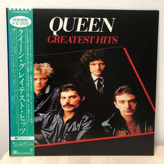 Queen Greatest Hits (Japan First Press) 1981 Vinyl Record