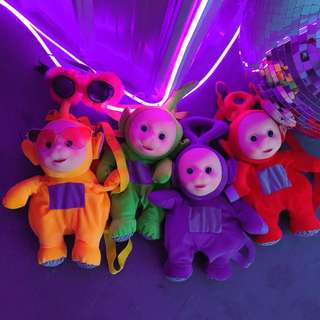 Teletubbies plush backpack