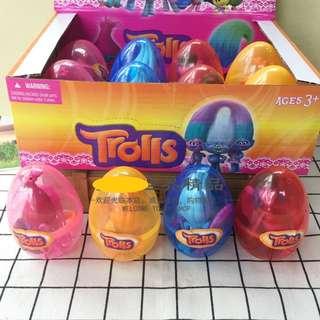 Trolls Egg Toys