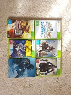 XBOX 360 Games - Call of Duty, Darksiders, ...