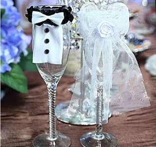 Wedding - Champagne Glass Deco