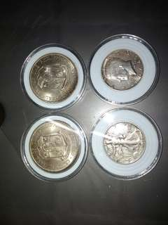 Half dollars silver and commemorative silver coin