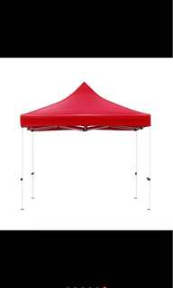 2m*2m 800D Canopy (Red)