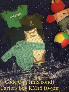 Combo set boy 0-6 month
