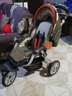 Jane Aluminium Frame Stroller
