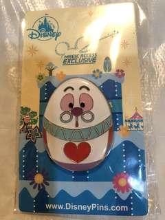 香港 迪士尼 徽章 Disney Pin  MA 花蛋 白兔先生
