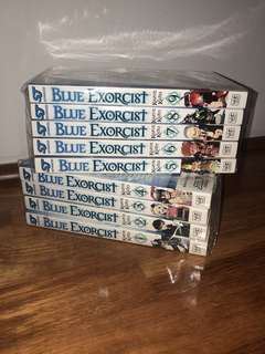 Blue Exorcist Manga (1 - 9).