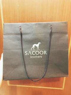 Sacoor Brothers Paper Bag