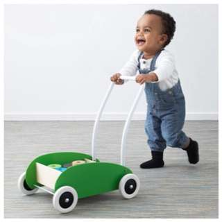IKEA Baby Walker (Wagon Push Cart)