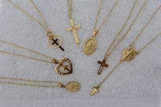 10k religious necklace