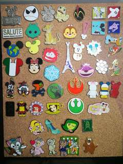Disney pin trading pins