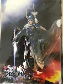 Final Fantasy Dissidia NT clear file set of 4