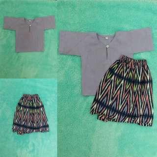 Baju Kurung Kedah Baby