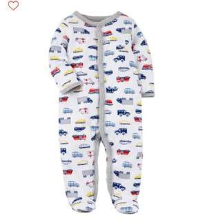*6M* Brand New Carter's Sleep And Play For Baby Boy