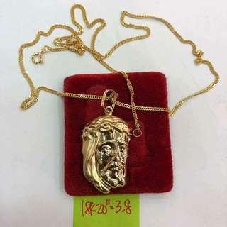 Saudi Gold-Jesus Face