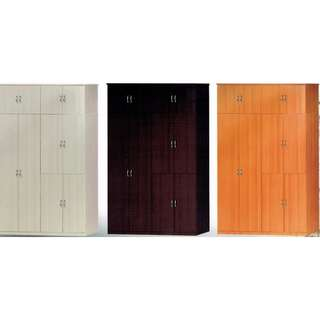 WARDROBE (5FT 10 DOORS WITH DRAWERS)