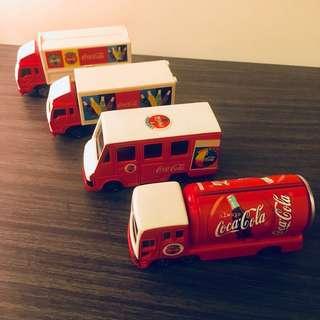 Coca Cola Truck Mini Toy Figure