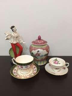 Vintage Tea Cup duo Aynsley