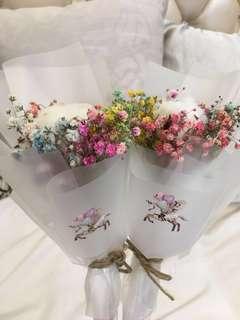 Unicorn Cotton Candy Baby Breathe - Mini Bouquet