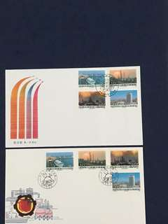 China Stamp-1988 T128 A/B FDC—Fire Sales