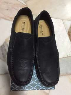 Swiss polo leather shoes