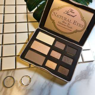 TOO FACED Narural Eyes經典鐵盒眼影盤