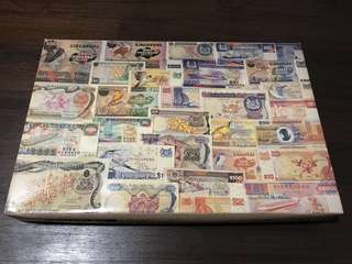 1992 Singapore Currency 1000 Pieces Puzzle Issued by Money World