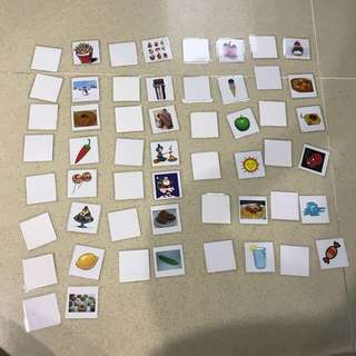 Shichida Touch and Feel Cards for 2yr old