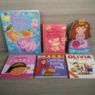 Preloved books for girls