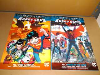 DC Universe Rebirth Super Sons