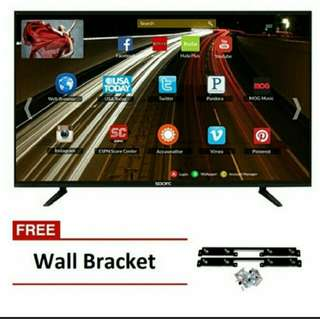 "Sparc 32"" SMART LED HD TV Black with wall Bracket"