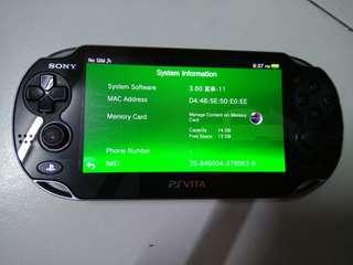 Sony ps Vita 3.60 henkaku enso mod 16GB sd2vita PSP