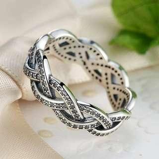 Pandora Braided Ring