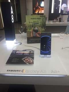 Promo weekend cashback 600 rb for samsung galaxy A8+ cicilan tanpa CC 3 menit
