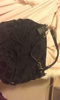COACH black purse - authentic!