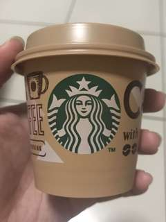 Starbucks Pudding Empty Cup