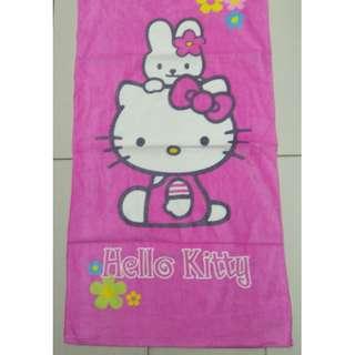 TOWEL KANAK2 - HELLO KITTY PINK