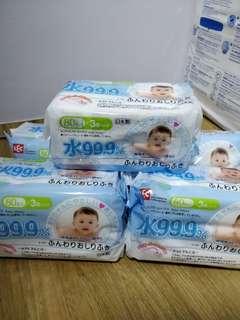 99.9% LEC Baby Wet Wipes