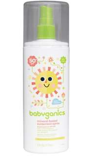 Babyganics Spray Sunblock (177ml)