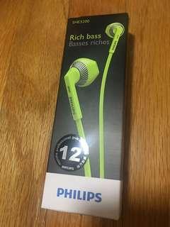 Philips 耳機 SHE3200 正貨