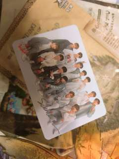 Seventeen yes card