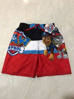 BNWT Paw Patrol Nickelodeon Pants with UV protection (size 7)
