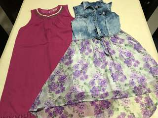 2 for $8:Guess & East india company dresses