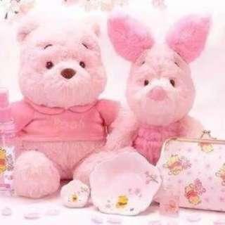 SAKURA櫻花系列維尼熊皮傑豬